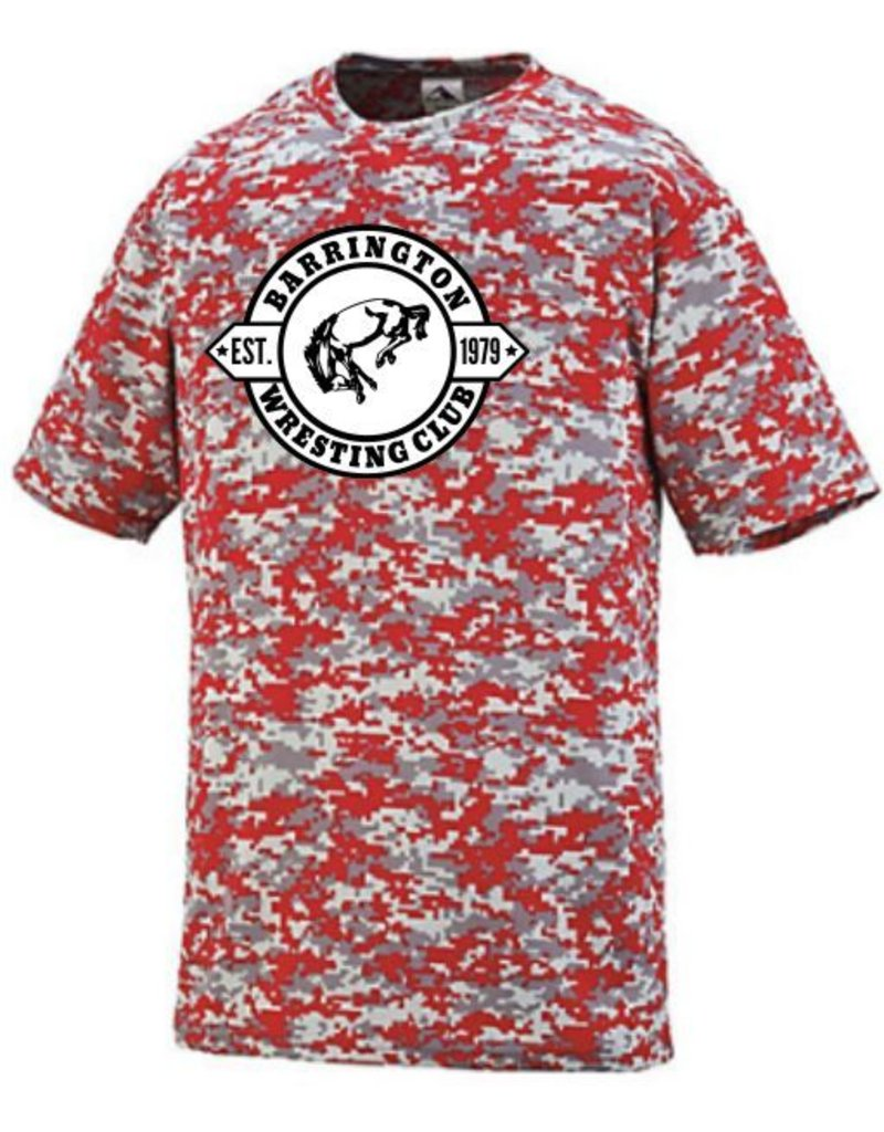 #60 Digi Camo Short Sleeve Wicking Shirt - BBWC