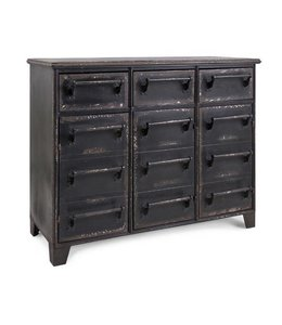 DREXEL 3-DRAWER METAL CABINET