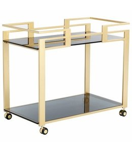 AVONDALE BAR CART-GOLD