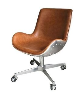 ABNER PU SWIVEL CHAIR