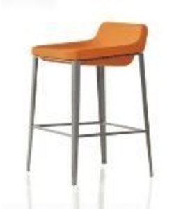 BAR STOOL ORANGE
