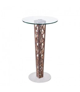 CRYSTAL BAR TABLE