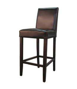 Hartford Bonded Leather Bar Stool, Brown