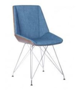 PANDORA DINING CHAIR-BLUE