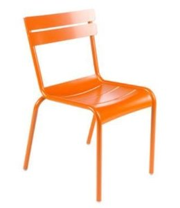 LUXEMBOURG SIDE CHAIR - CARROT