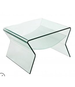 DEON GLASS END TABLE