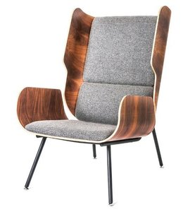 ELK CHAIR VARSITY CHARCOAL