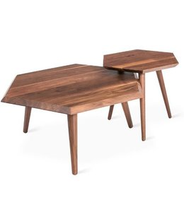 METRIC COFFEE TABLE WALNUT