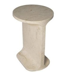 COLMAR SIDE TABLE MARBLE