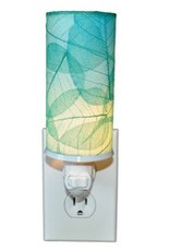 Eangee Cylinder Leaf Nightlight , Sea Blue