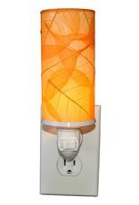 Eangee Cylinder Leaf Nightlight , Orange