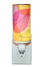 Eangee Cylinder Leaf Nightlight , Multi