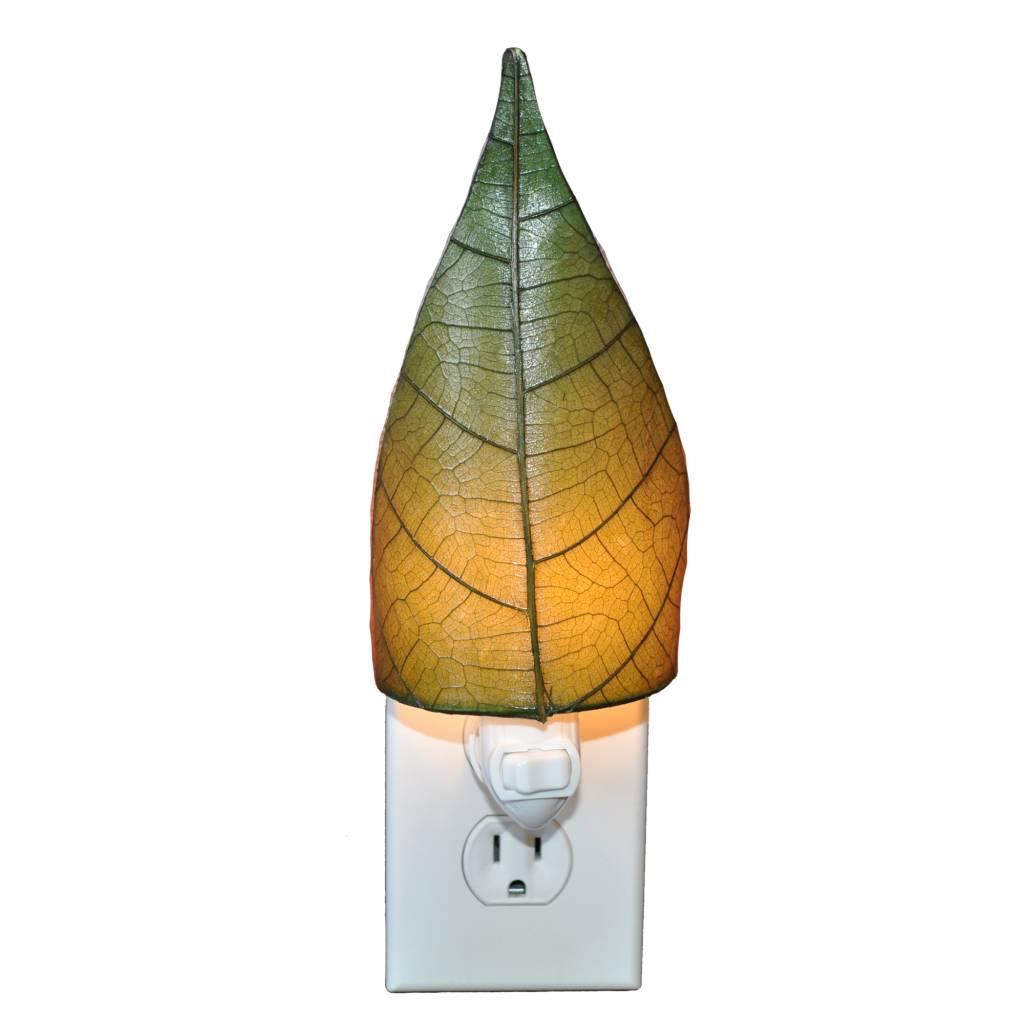 Eangee Single Leaf Nightlight, Green