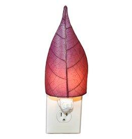 Eangee Single Leaf Nightlight, Purple