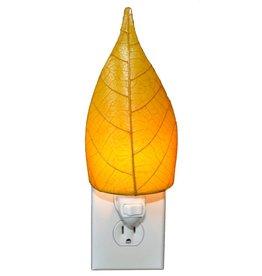Eangee Single Leaf Nightlight, Yellow