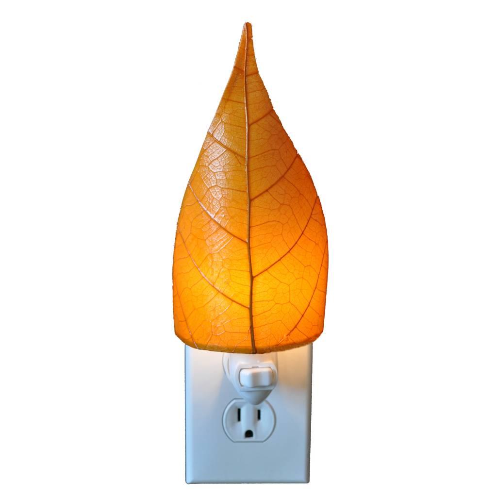 Eangee Single Leaf Nightlight, Orange