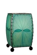 Eangee Mini Leaf Lamp, Sea Blue