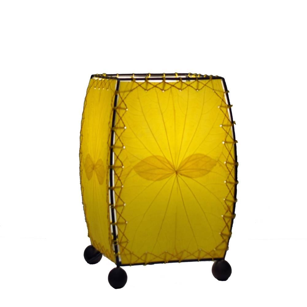 Eangee Mini Leaf Lamp, Yellow