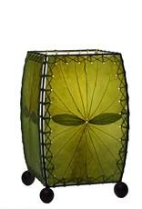 Eangee Mini Leaf Lamp, Green