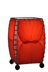 Eangee Mini Leaf Lamp, Red