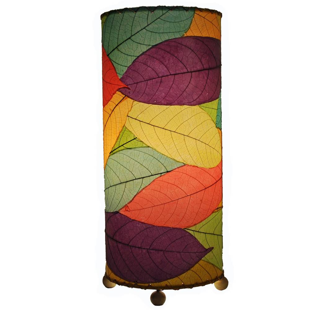 Eangee Cocoa Cylinder Lamp, Multi
