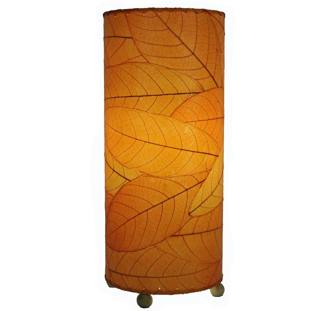 Eangee Cocoa Cylinder Lamp, Orange