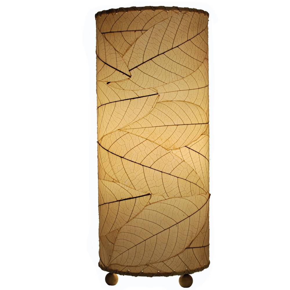 Eangee Cocoa Cylinder Lamp, Natural