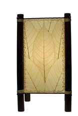 Eangee Fortune Table Lamp, Natural