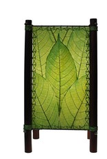 Eangee Fortune Table Lamp, Green
