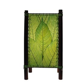 eangee fortune table lamp green
