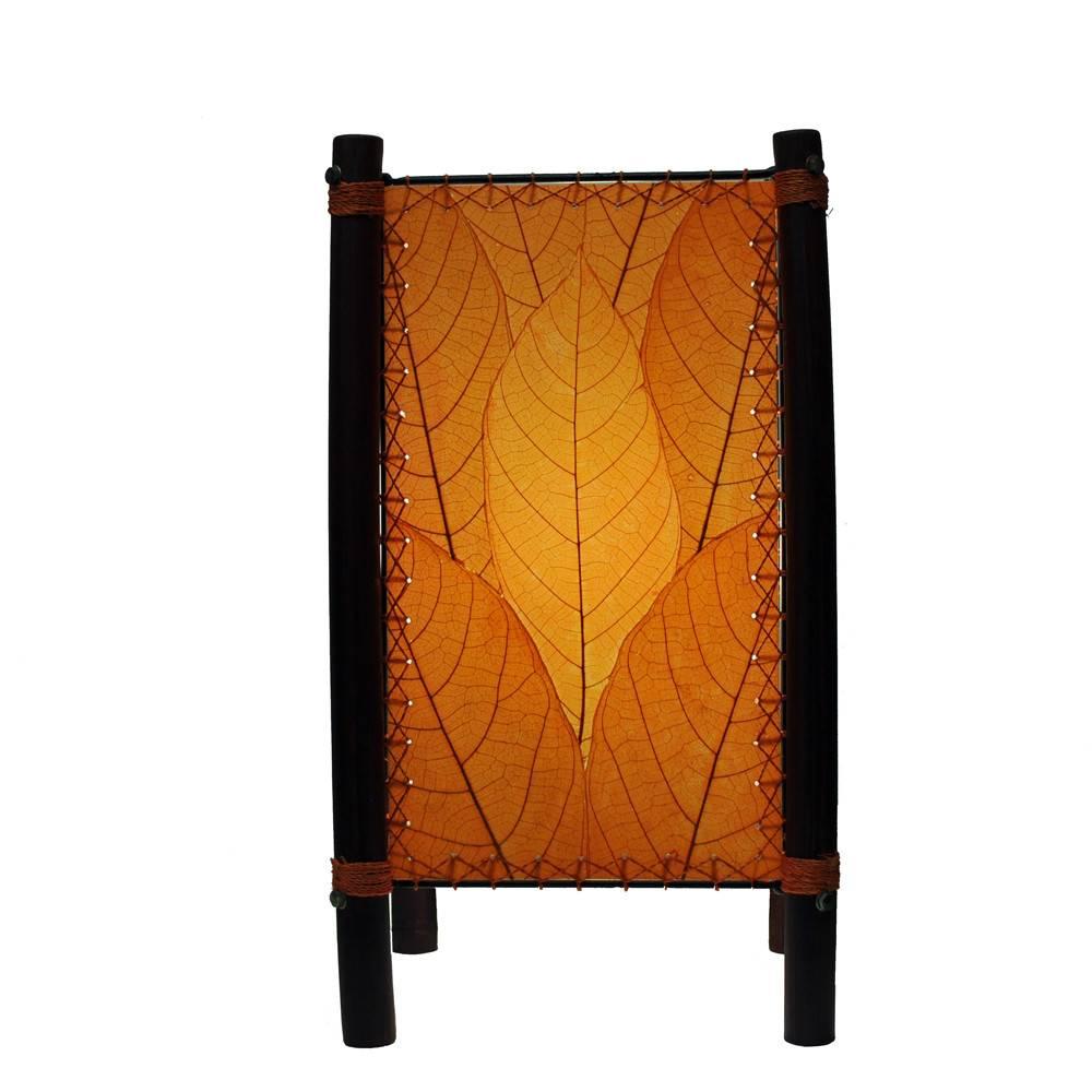 Eangee Fortune Table Lamp, Orange