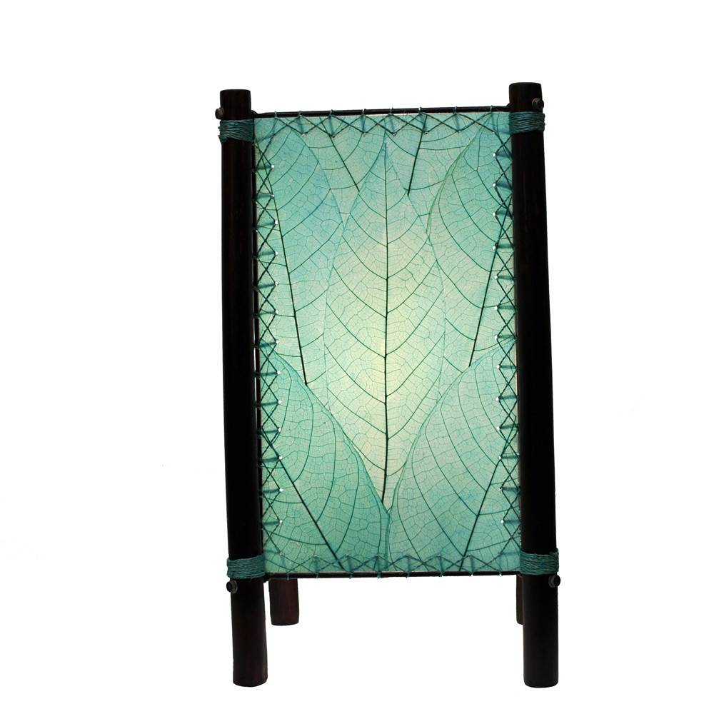 Eangee Fortune Table Lamp, Sea Blue
