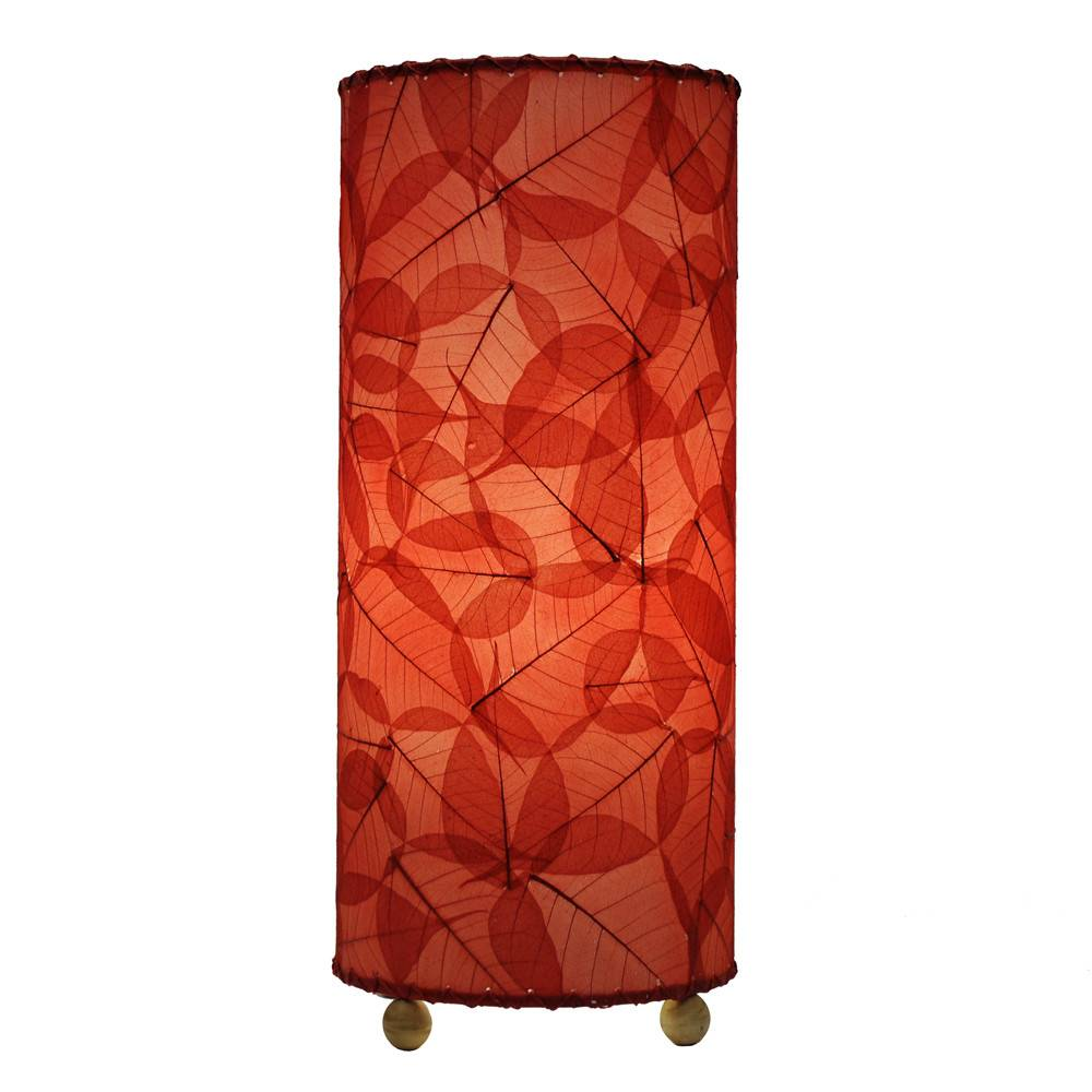 Eangee Banyan Table Lamp, Red
