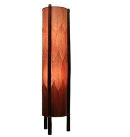 Eangee Hue 4ft Lamp, Burgundy