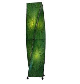 Eangee Twist 4ft Lamp, Green