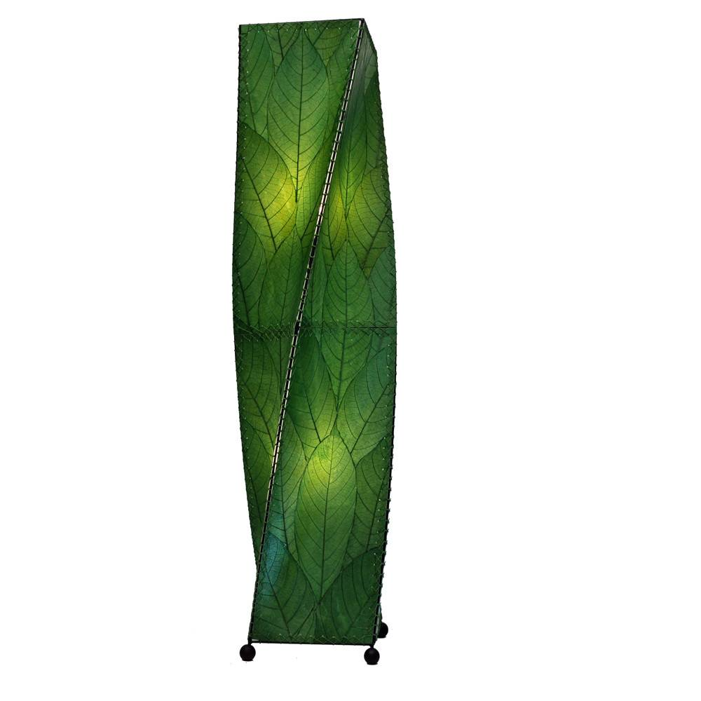 Eangee Twist 4ft Lamp, Green