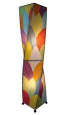 Eangee Twist 4ft Lamp, Multicolor