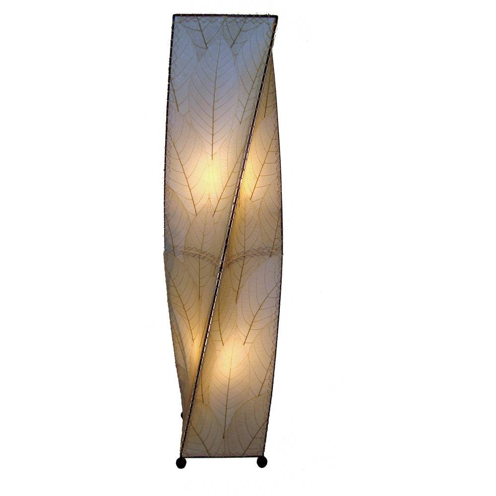 Eangee Twist 4ft Lamp, Natural
