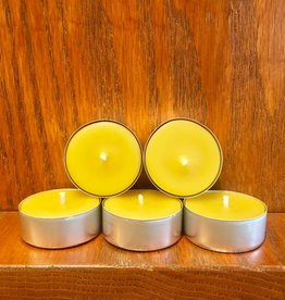 Kimberlis Garden Creations Beeswax Tealight Candle