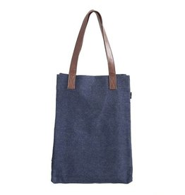 Maika Reclaimed Canvas Market Tote