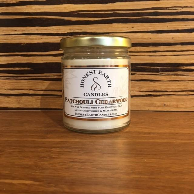 Honest Earth Massage Candle