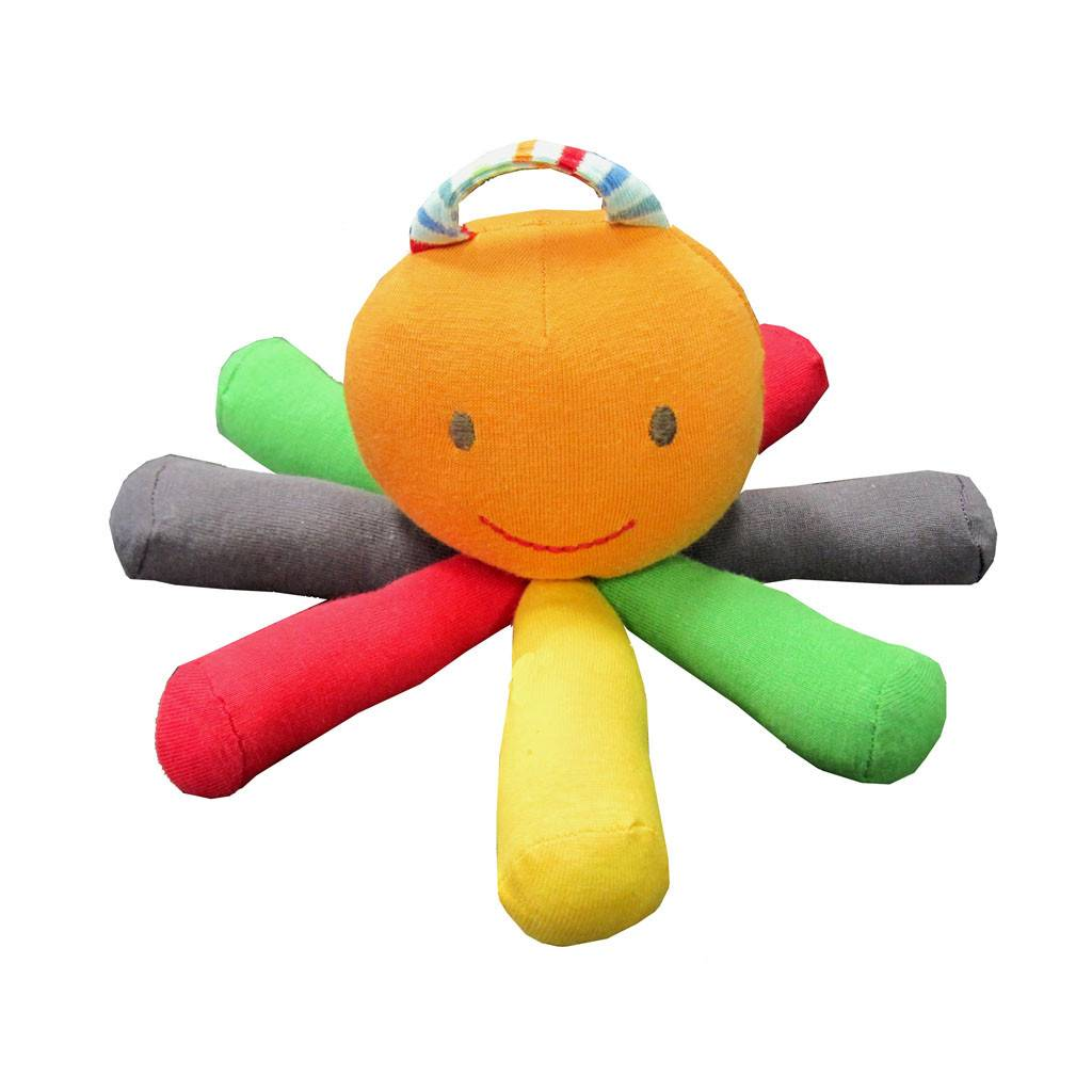 Scraptopus Toy- Multicolor