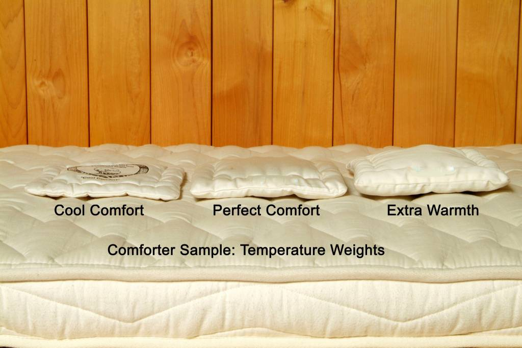Dual Weight Comforter (Combo #1 - Extra Warmth & Cool Comfort)