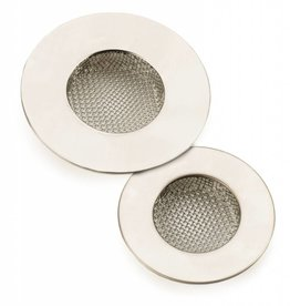 Stainless Steel Sink Strainer (Small, 2 Pack)