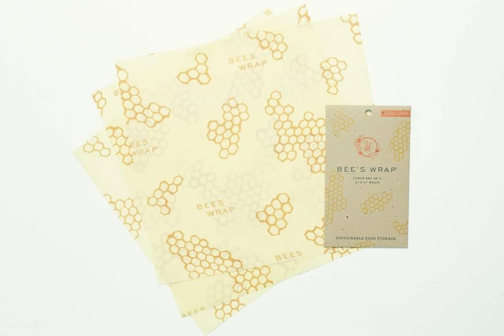 Beeswrap Large Flats 3pk