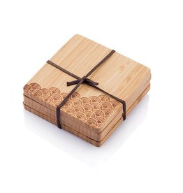 Bamboo Coasters (Set of 4)