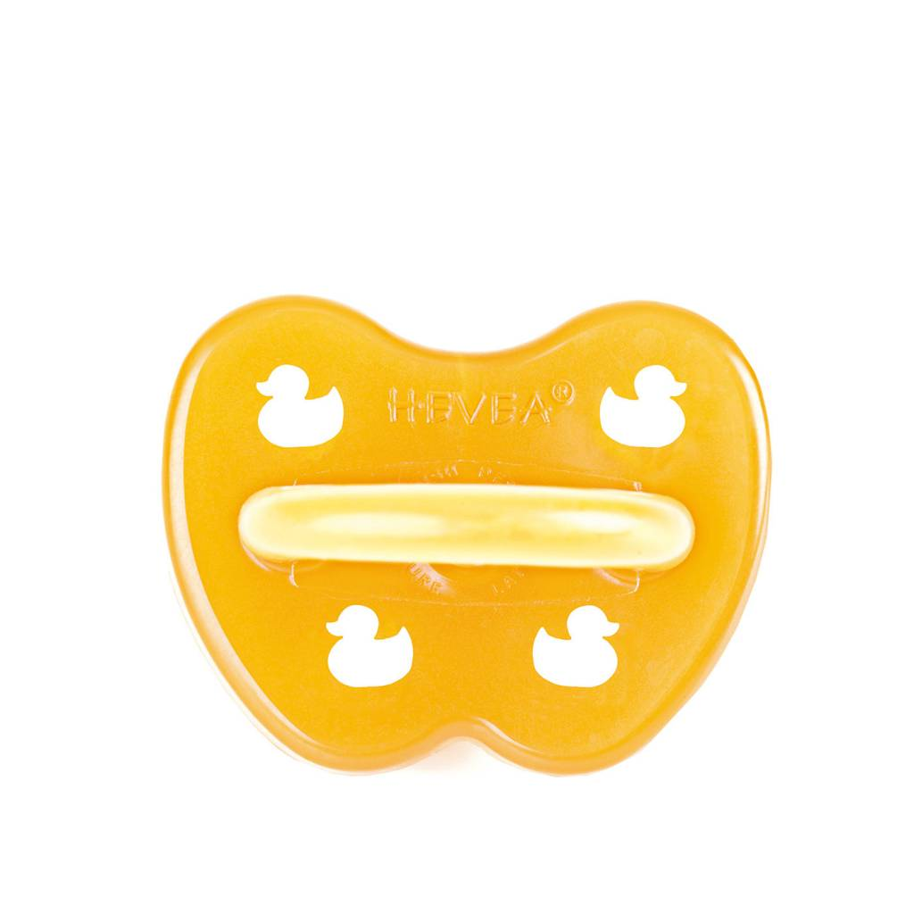 Hevea Duck Symmetrical Pacifier