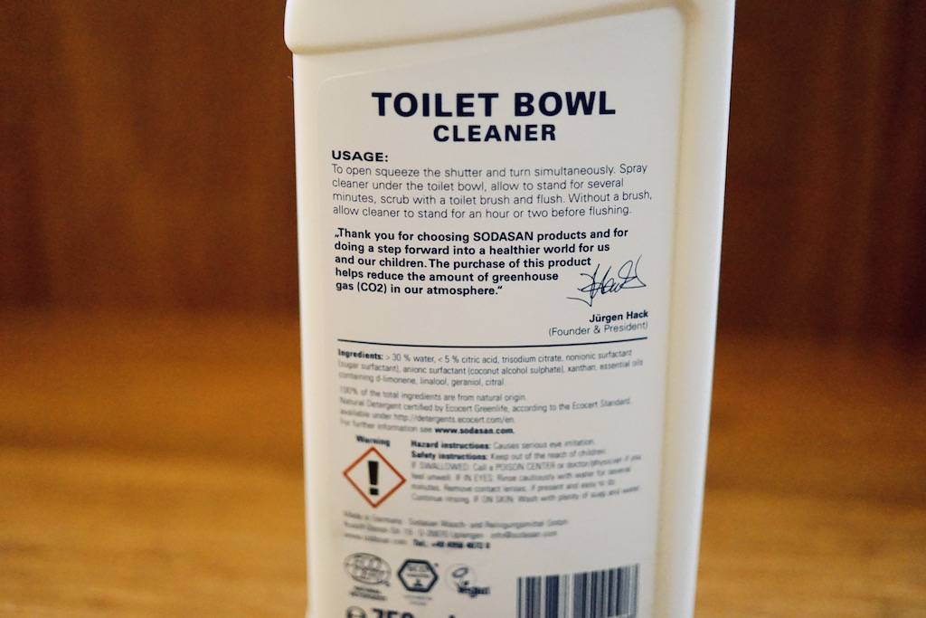 Sodasan Toilet Cleaner
