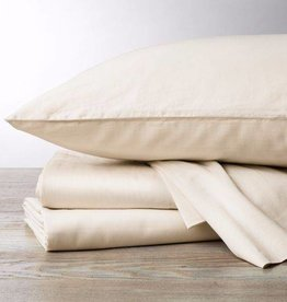 300 TC Sateen Sheet Set- Natural, Queen