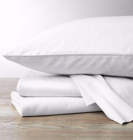 300 Sateen Sheet Set- Alpine White, Queen